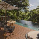 Luxury boutique hotel in Tanah Lot - Tabanan - Bali | Nirjhara | Jungle pool pavilion